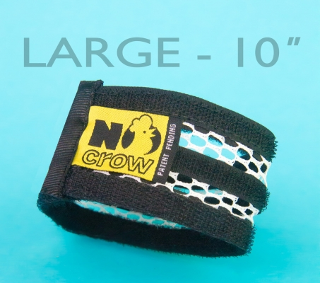 No Crow Rooster Collar Large