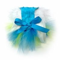 Chicken Blue Tutu Dress